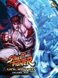 Street Fighter Unlimited 1 - Ken Siu-Chong (Hardcover) - Cover