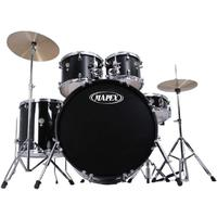 Mapex PDG5044TCDK Prodigy 5pc Fusion Drum Kit Inc Throne and Cymbals (Black)
