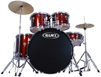 Mapex PDG5254TCDR Prodigy 5pc Standard Drum Kit (Red) - Cover