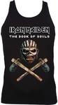 Iron Maiden Axe Colour Ladies Black Vest (Large)