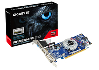 Gigabyte AMD Radeon R5 230 1024mb DDR3 Graphics Card - Cover