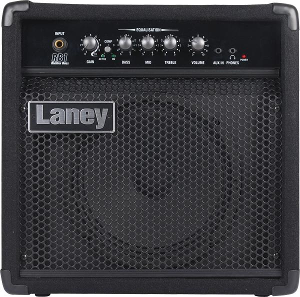 laney rb1 richter bass series 15 watt 8 inch bass guitar amplifier