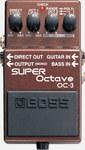 Boss OC-3 Super Octave Guitar Octave Effects Pedal