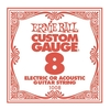 Ernie Ball 1008 .008 Plain Steel Single String