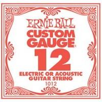 Ernie Ball 1012 .012 Plain Steel Single String - Cover
