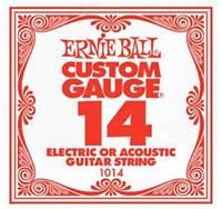 Ernie Ball 1014 .014 Plain Steel Single String - Cover