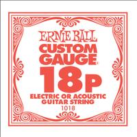 Ernie Ball 1018 .018 Plain Steel Single String - Cover