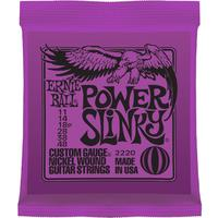 Ernie Ball 2220 Power Slinky 11-48 Nickel Wound Electric Guitar Strings