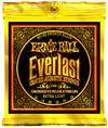 Ernie Ball 2560 Everlast Coated Extra Light 80/20 Bronze Acoustic Guitar Strings