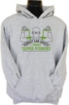 Forget Lab Safety Mens Hoodie Grey (XX-Large)