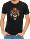 Dead Rebel Mens T-Shirt Black (X-Large)