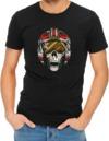 Dead Rebel Womens T-Shirt Black (X-Large)