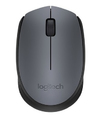 Logitech - M170 Cordless Notebook Mouse - Black and Silver