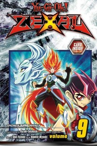 Yu-Gi-Oh! Zexal, Vol. 9 (Paperback) - Cover