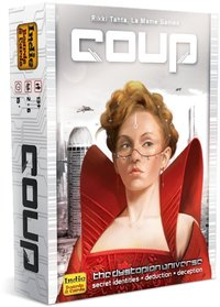 Coup (Card Game) - Cover