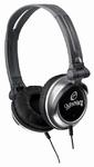 Gemini DJ DJX-03 Professional Lightweight DJ Headphones (Silver)