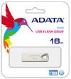 ADATA - UV210 16GB USB 2.0 Flash Drive - Silver