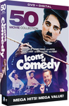 Icons of Comedy: 50 Movie Megapack (Region 1 DVD)