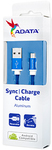 ADATA - 1m Micro USB Sync Charge Cable - Blue