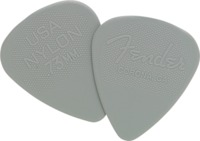 Fender Nylon Grey 0.73mm Pick - Cover