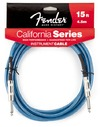 Fender California Instrument Cable 4.5 Meter (Lake Placid Blue)