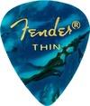 Fender 351 Shape Premium Thin Ocean Turquoise Pick
