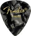 Fender 351 Shape Premium Black Moto Thin Pick