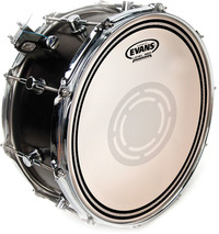 Evans B14ECSRD 14 Inch EC Reverse Dot Snare Batter Drum Head - Cover