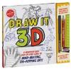 Draw It 3D - Klutz (Paperback)