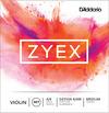 D'Addario DZ310A 4/4M Zyex Violin 4/4 with Alluminum D Violin Single Strings (Medium)