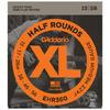 D'Addario EHR360 13-56 Half Round Jazz Medium Electric Guitar Strings
