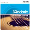 D'Addario EJ16 12-53 Phosphor Bronze Light Acoustic Guitar Strings