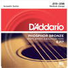 D'Addario EJ17 13-56 Phosphor Bronze Medium Acoustic Guitar Strings