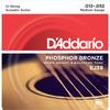 D'Addario EJ39 12-52 Phosphor Bronze Medium 12 String Acoustic Guitar Strings