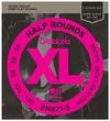 D'Addario ENR71-5 45-130 Half Round Bass Long Scale 5 String Bass Guitar Strings