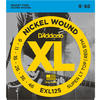 D'Addario EXL125 9-46 Nickel Wound Super Light Top Regular Bottom Electric Guitar Strings