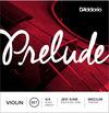 D'Addario J810 4/4M 4/4 Prelude Medium Violin Strings