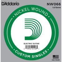 D'Addario NW066 .066 XL Nickel Wound Single String