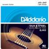 D'Addario EJ40 11-49 Silk and Steel Folk Acoustic Guitar Strings