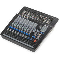 Samson MPX144FX 14 Channel Analog Stereo Mixer with Effects and USB (Black)