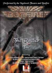 Bonfire: The Rauber - Live (DVD) - Cover