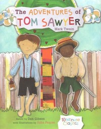 The Adventures of Tom Sawyer - Mark Twain (School And Library) - Cover