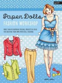 Paper Dolls Fashion Workshop - Norma Burnell (Paperback) - Cover