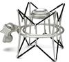 Samson SP01 Spider Shock Mount for C01/C03/Cl7 Microphones (Silver)