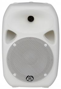 Wharfedale Titan 8A MKII Titan Active Series 180 watt 8 Inch 2-Way Active Loud Speaker (White) - Cover