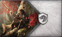 A Game of Thrones: The Card Game (Second Edition) - The Warden of the North Playmat - Cover