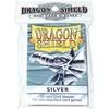 Dragon Shield - Small Sleeves - Silver (50 Sleeves)