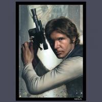 Fantasy Flight Games - Star Wars Art Card Sleeves: Han Solo (50 sleeves)