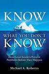 Know What You Don't Know - Michael a. Roberto (Paperback)