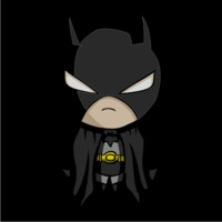 Baby Batman Womens Hoodie Black (X-Large) - Cover